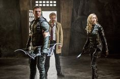 Constantine on Arrow , what a match