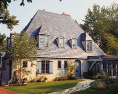 Country French-Style Homes