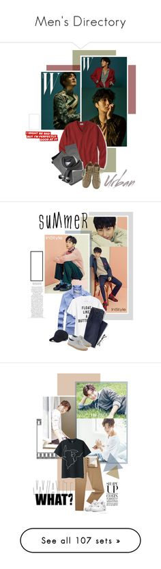 """""""Men's Directory"""" by oh-pororo ❤ liked on Polyvore featuring L.L.Bean, Lords of Harlech, Christian Louboutin, Lacoste, men's fashion, menswear, WMAGAZINE, jungilwoo, Gap and Lands' End"""