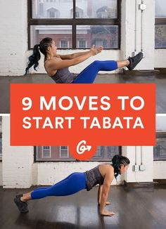 9 Must-Try Moves to Get Started With Tabata #bodyweight #workout #tabata http://greatist.com/fitness/best-tabata-moves