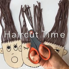 Need a fun way to practice scissor skills?Practice learning how to cut and snip with this awesome yarn cutting activity! Need a fun way to practice scissor skills?Practice learning how to cut and snip with this awesome yarn cutting activity! Preschool Learning Activities, Infant Activities, Preschool Activities, Children Activities, Cutting Activities For Kids, Emotions Preschool, Fine Motor Activities For Kids, Creative Activities For Kids, Creative Arts And Crafts
