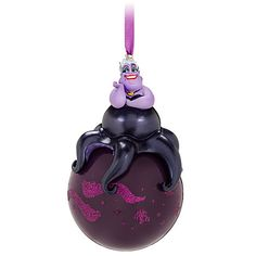 Ursula Sketchbook Ornament | Ornaments | Disney Store (they put her on sale for half off and now she's out of stock! pff)