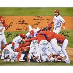1efcab9111f Philadelphia Phillies Fanatics Authentic Autographed 16