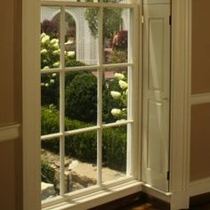 Old House Features - Bob Vila - pocket shutters Window Jamb, Old Fashioned House, Interior Window Shutters, Indoor Shutters, Wooden Shutters, Interior Doors, Art Deco, Home Renovation, Cottage Renovation