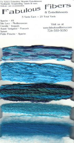 Fabulous Fibers - Product Detail - fibers, couching, knitting, rubber stamping,scrapbooking
