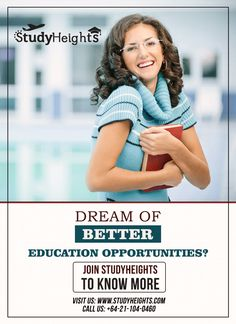 Dream of better education come true.