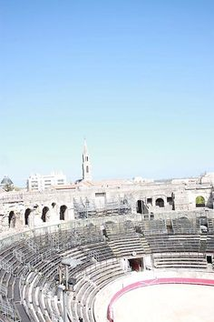 Nimes to visit the coliseum