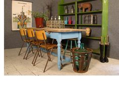 Vintage pine furniture