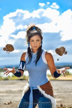 Legend of Korra Earthbending - by Carma Cosplay at KumoriCon 2015