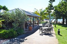 Neptunes- You can dine outside or under a roof.