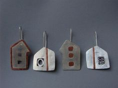 4Houses (silver, copper onlay)