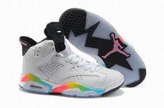 Air Jordan 6 Retro White Women's