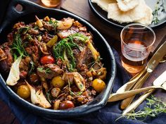 Slow-Cooked Lamb Recipe with Fennel - Viva