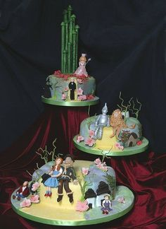 Wizard of Oz Wedding Cakes | really unusual Wizard of Oz wedding cake for a couple who loved the ...