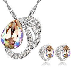anillo con cristales de swarovski elements 4163 joyas