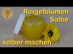 Ringelblumen-Salbe mit Ringelblumen-Auszug, Bienenwachs und Kokosöl