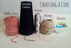 Tips for Core Spinning Yarn