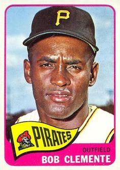 topps baseball cards  clemente | 1965 Topps Roberto Clemente