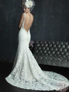 Allure Couture   Wedding Dresses: Backless Wonders Part Deux