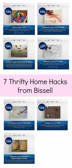 7 Thrifty Home Hacks from Bissell