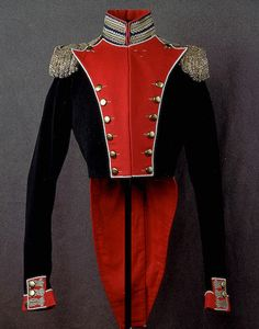Russian General's uniform Tunic, 2nd type, circa 19th Century.