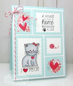 I Love My Cat!! by joan ervin - Cards and Paper Crafts at Splitcoaststampers