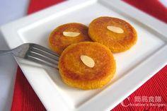煎南瓜軟餅【感恩節甜品】Pumpkin Mochi Cake from 簡易食譜