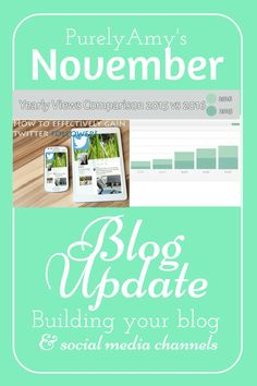 Sometimes building your blog means starting from scratch. Here are my top growth points on all of my social media platforms for this month.