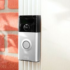 Now you'll know who's at the door, no matter where you are. Ring's innovative and safe doorbell design streams audio and video directly to your device, so you can see and speak with visitors from anywhere.