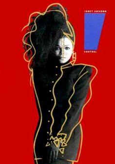 By Tony Viramontes (1960-1988) , Janet Jackson.