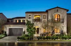 mediterranean style homes exterior Mediterranean Homes Exterior, Mediterranean Architecture, Mediterranean Home Decor, Tuscan Homes, Exterior Homes, Exterior Paint, Luxury Home Decor, Luxury Homes, Palazzo