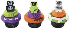 Use Monsterbot Cupcake Rings to make creepy-cute cupcakes