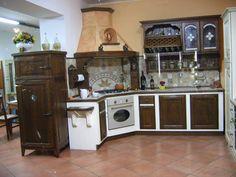 Cucina in muratura rustica n.02 | Cucine | Pinterest | Mid century ...