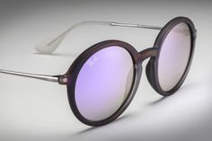 #RayBanRound with Flash lenses // http://neverhi.de/rxuc