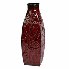 "Gerson 40488 - 15"" Deep Red Flower Pattern Metal Vase for Lighted Branches by Gerson. $13.43. 15"" - Deep Red - Flower Pattern - Shiny Finish 