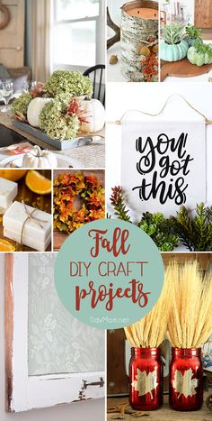 Fall for DIY….8 easy