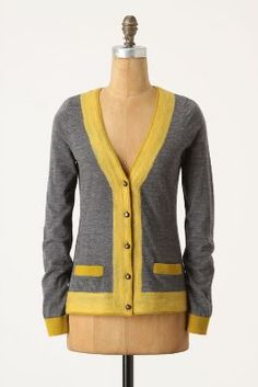 Felted Colorbar Cardigan by Charlie & Robin