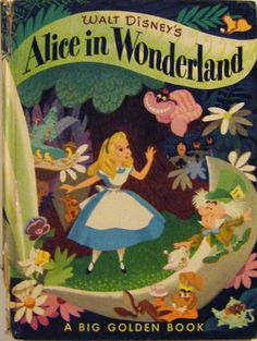 1951 First Edition First Printing Walt Disney's Alice by parkledge