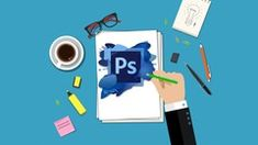 Perfect Photoshop course for beginner web designers who want learn to how to make a clean simple web page design.