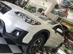 Nick did an awesome job tinting this Subaru Crosstrek! It looks great, can't wait for the client to see it! #WindowTinting