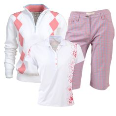 Outfit from the Kartel Ladies #golf collection.