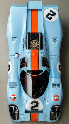 Porsche 917K Gulf LeMans                                                                                                                                                                                 More