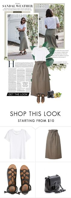 """""""How To Style: A Khaki Piece"""" by solespejismo on Polyvore featuring H&M, Related, Billabong and Reed Krakoff"""