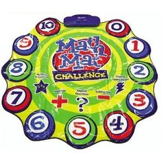 Learning Resources Math Mat Challenge Game (Toy)