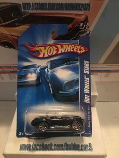 HOT WHEELS, Hot Wheels Stars, Shelby Cobra 427 S/C Sports Car, #097/156 #HotWheels #Shelby