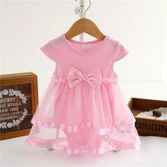 f03b2ad1996 Baby Girl Dresses. Infant DressesBow DressesInfant TutuBaby TutuBaby BowsTulle  DressPink ...