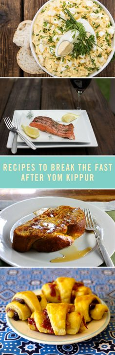 Break fast after Yom Kippur in style with some pretty amazing food. We're obsessed with these recipes for egg salad wraps, lemon dill grilled salmon, and of course rugelach.