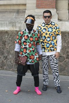 Street Style at Mens Fashion Week