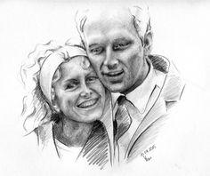 Rodzice Portret