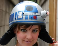 Love Star Wars? Try The R2-D2 Motorcycle Helmet - BMW F800 Riders ...